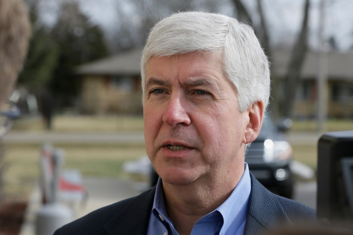 Ex-Michigan Gov. Rick Snyder charged in Flint water crisis 1