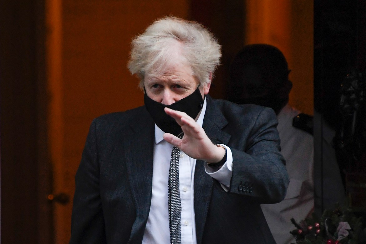 Boris Johnson says COVID-19 lockdowns 'probably going to get tougher' 1
