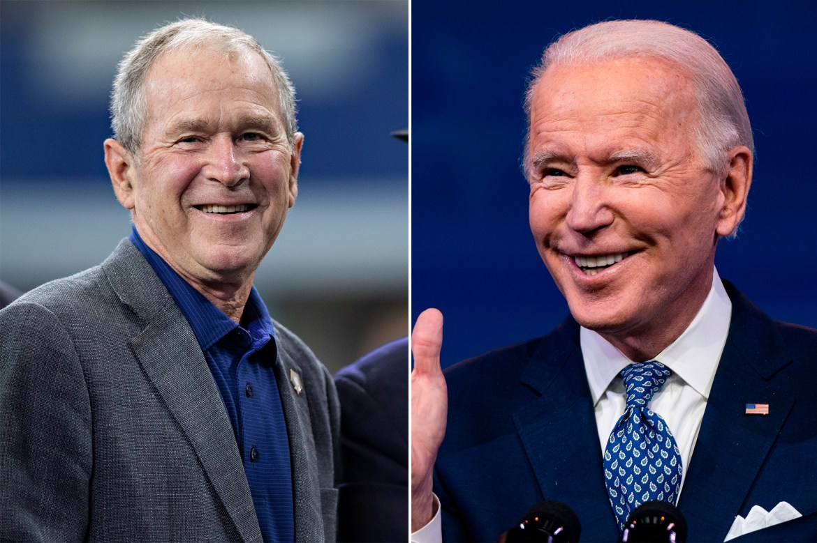 George W. Bush will attend Joe Biden's inauguration, Jimmy Carter staying home 1