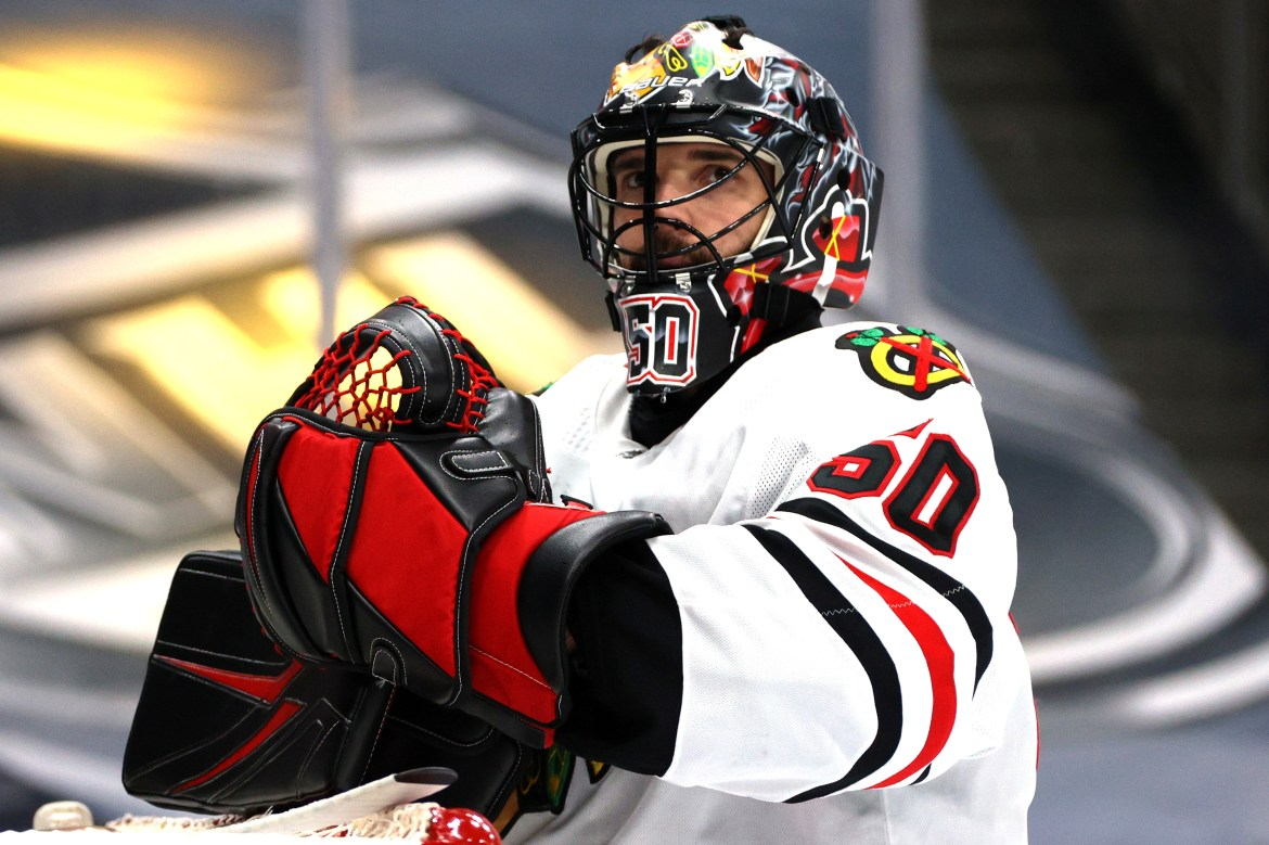 Devils giving Corey Crawford 'space' as he leaves team for personal reasons 1