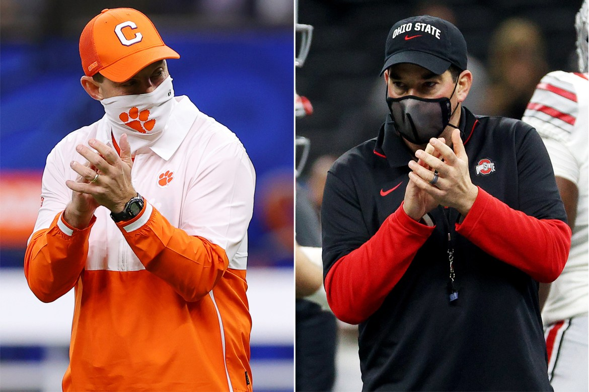 Ryan Day, Dabo Swinney share mutual respect with help from their wives 1