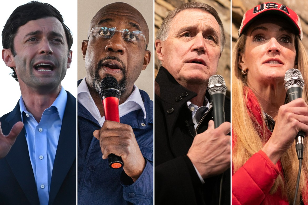 Senate runoff races in Georgia rank among most expensive in US history 1