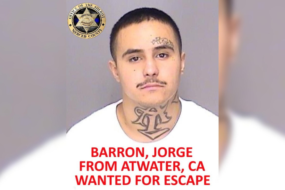 6 inmates escape from California county jail 1