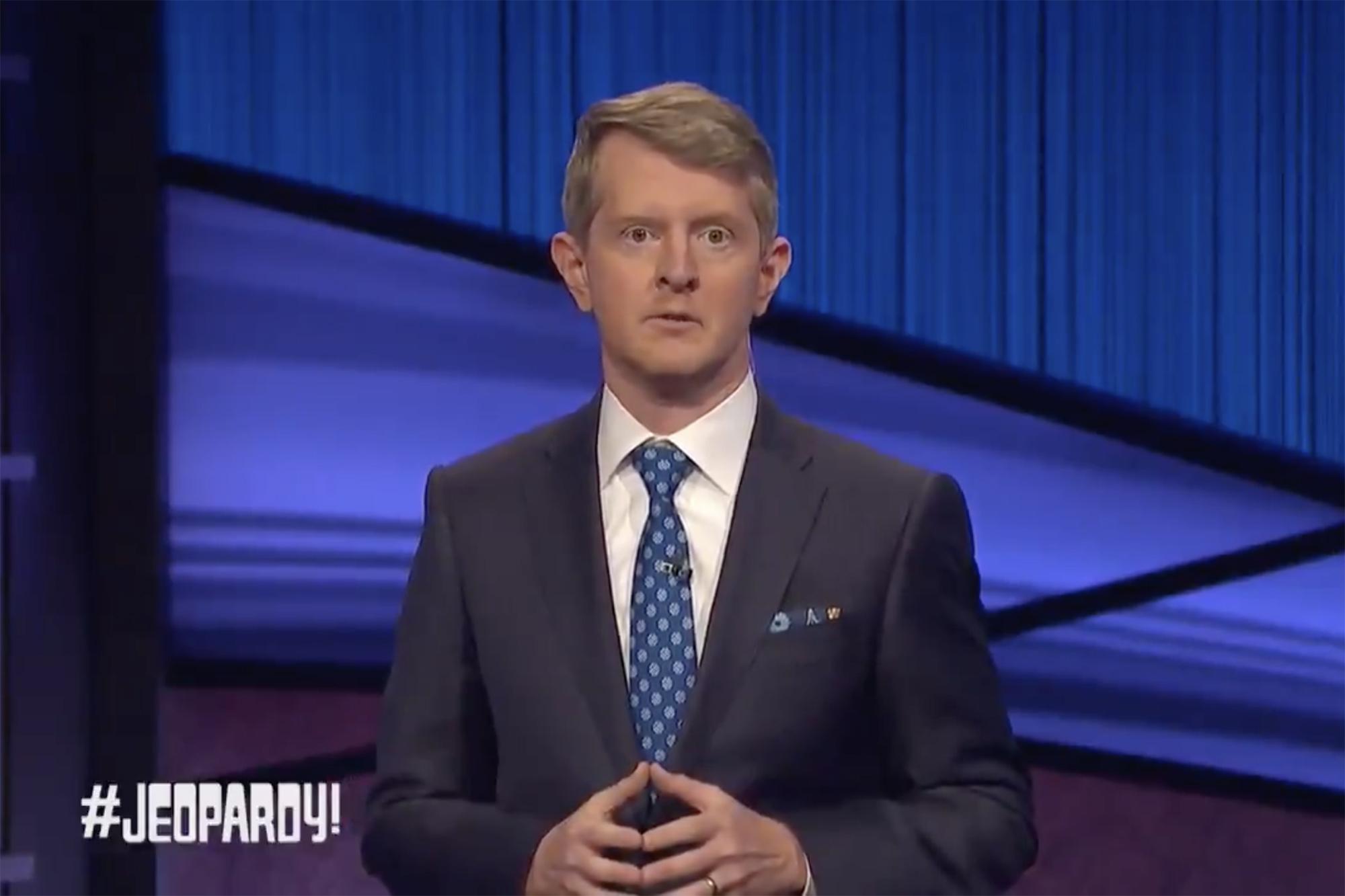 Ken Jennings' hosts first 'Jeopardy!' after Alex Trebek's death