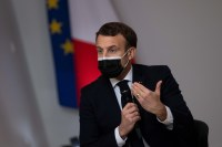 French President Macron confident in strength of US democracy