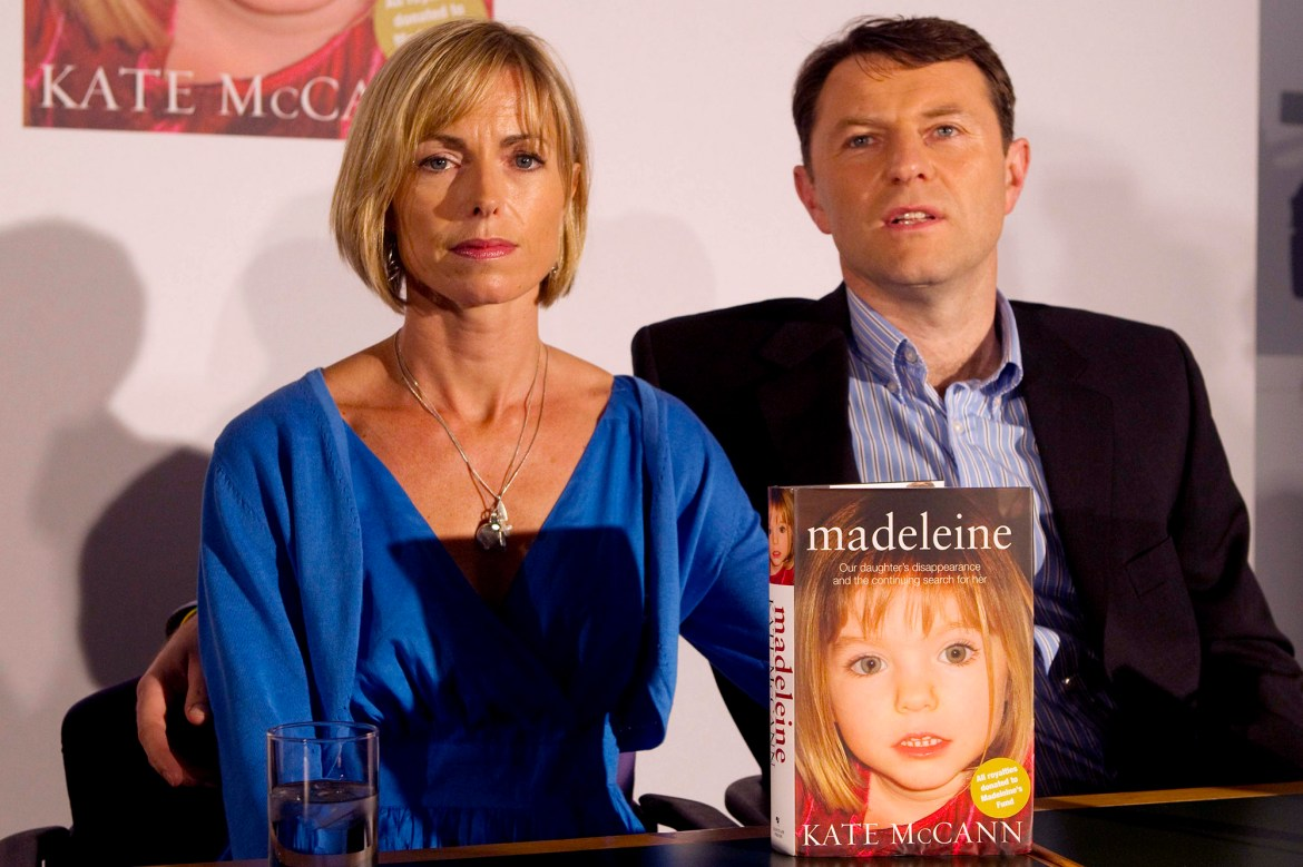 Madeleine McCann's parents still hopeful in search for missing toddler 1