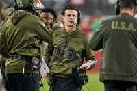 Robert Saleh begins overhauling Jets' offensive staff