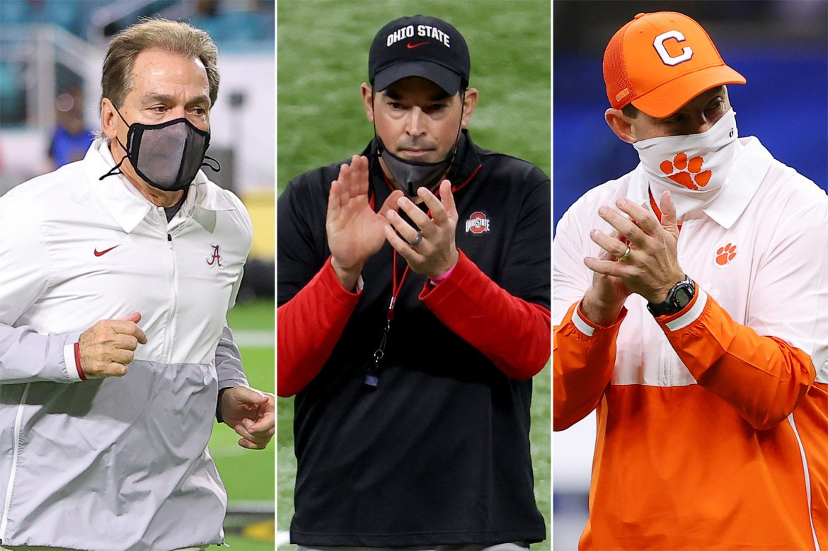 Alabama, Clemson and Ohio State's grip on college football isn't going away 1