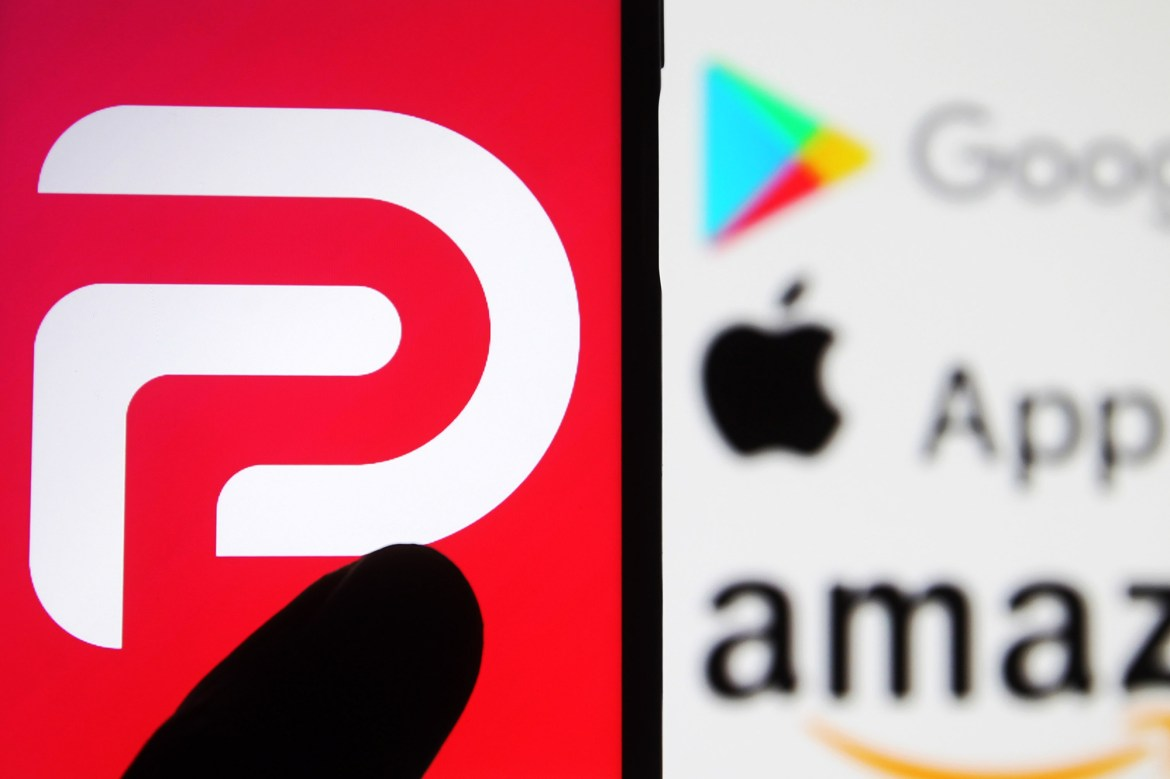 Amazon says it repeatedly warned Parler about death threat posts 1