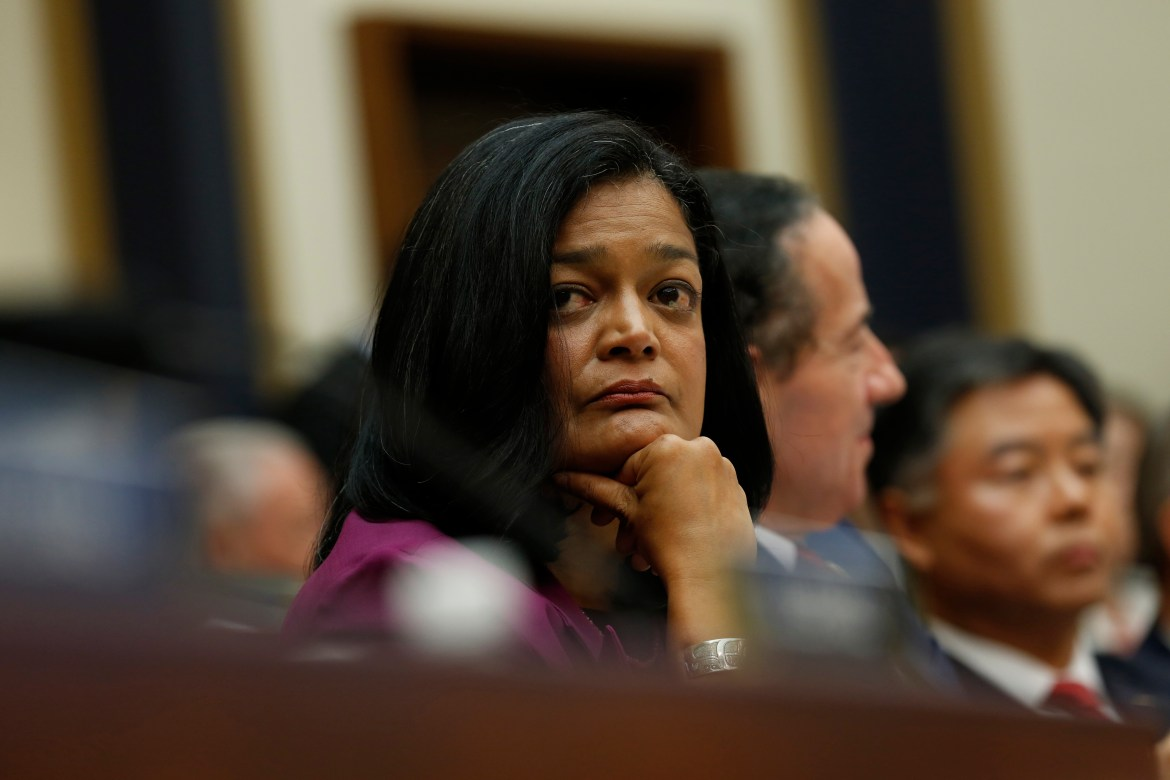 Pramila Jayapal tests positive for COVID-19 after sheltering in crowded Capitol room during riot 1