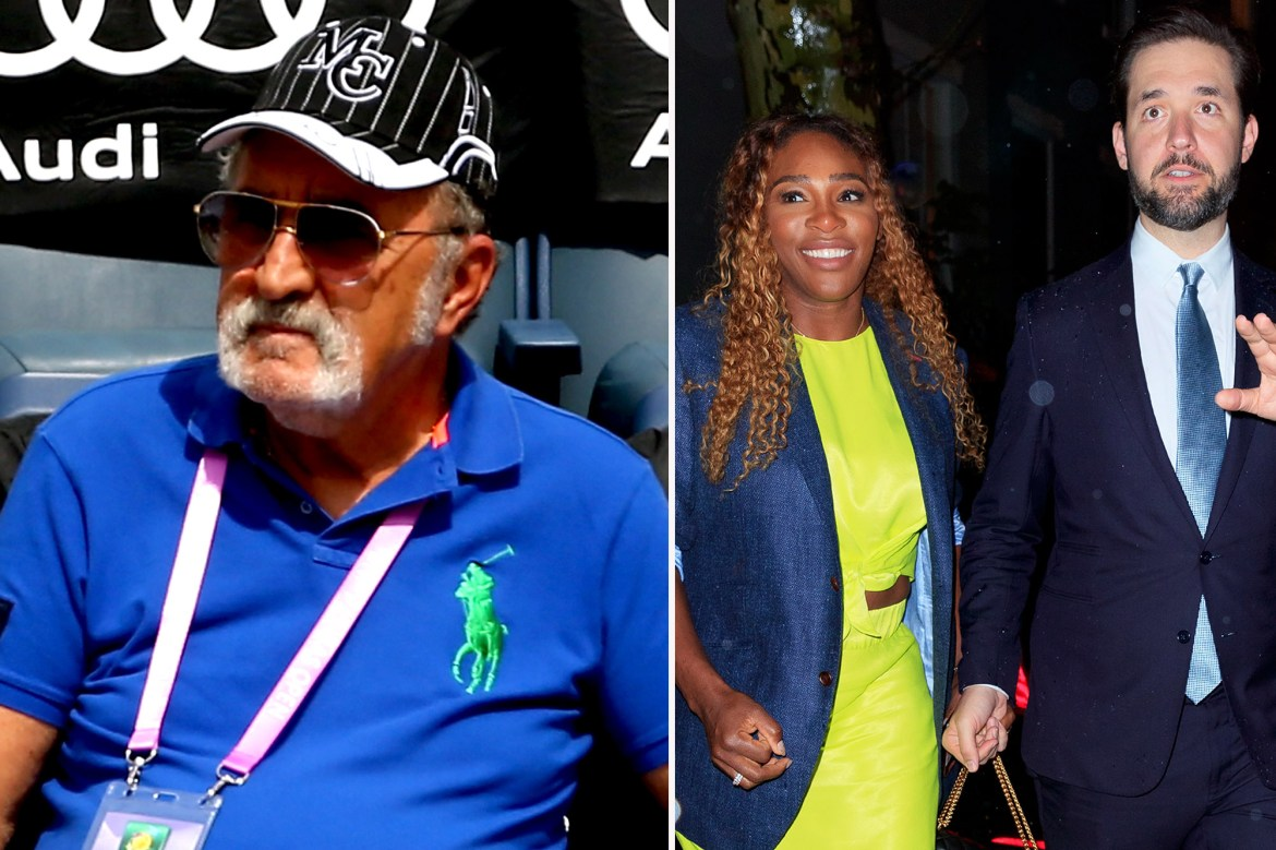 Serena Williams' husband, Alexis Ohanian, slams 'racist' tennis boss after weight attack 1