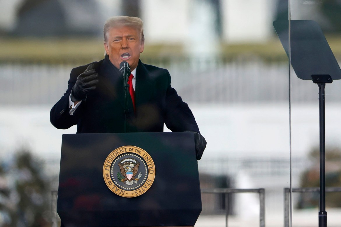 Trump approves emergency declaration for DC ahead of Biden inauguration 1