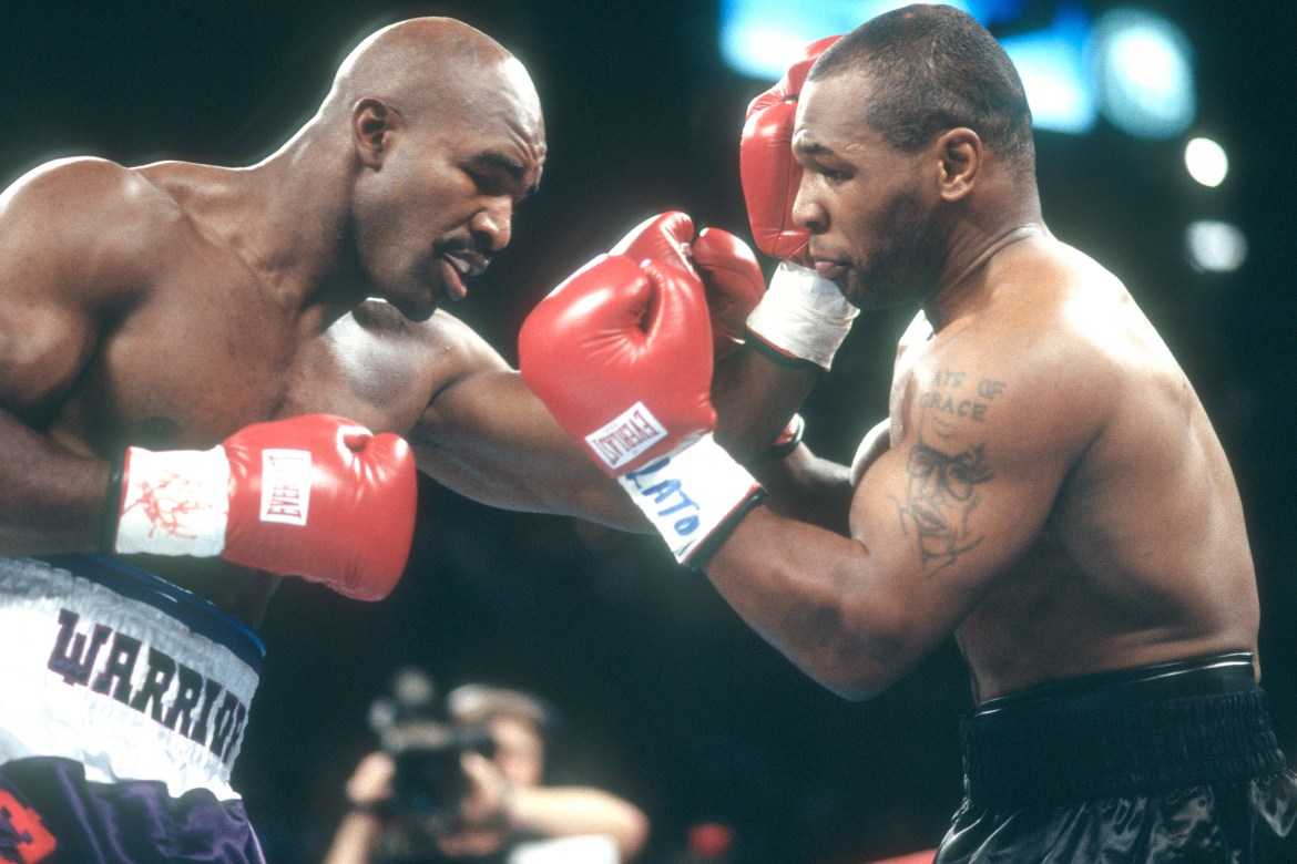Evander Holyfield: We're in talks with Mike Tyson for $200 million rematch 1