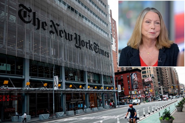 Jill Abramson served as executive editor of The New York Times from 2011 to 2014.
