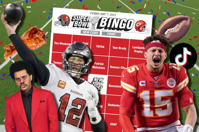 Super Bowl Bingo HP