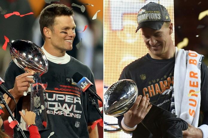 , [:en]Tom Brady's newest Tremendous Bowl run fueled by Peyton Manning feat[:], Laban Juan