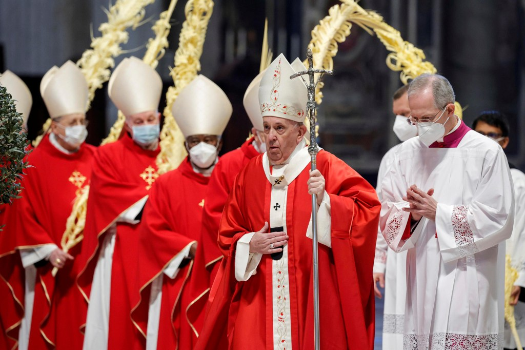 Pope Francis says Satan is taking advantage of COVID-19 pandemic