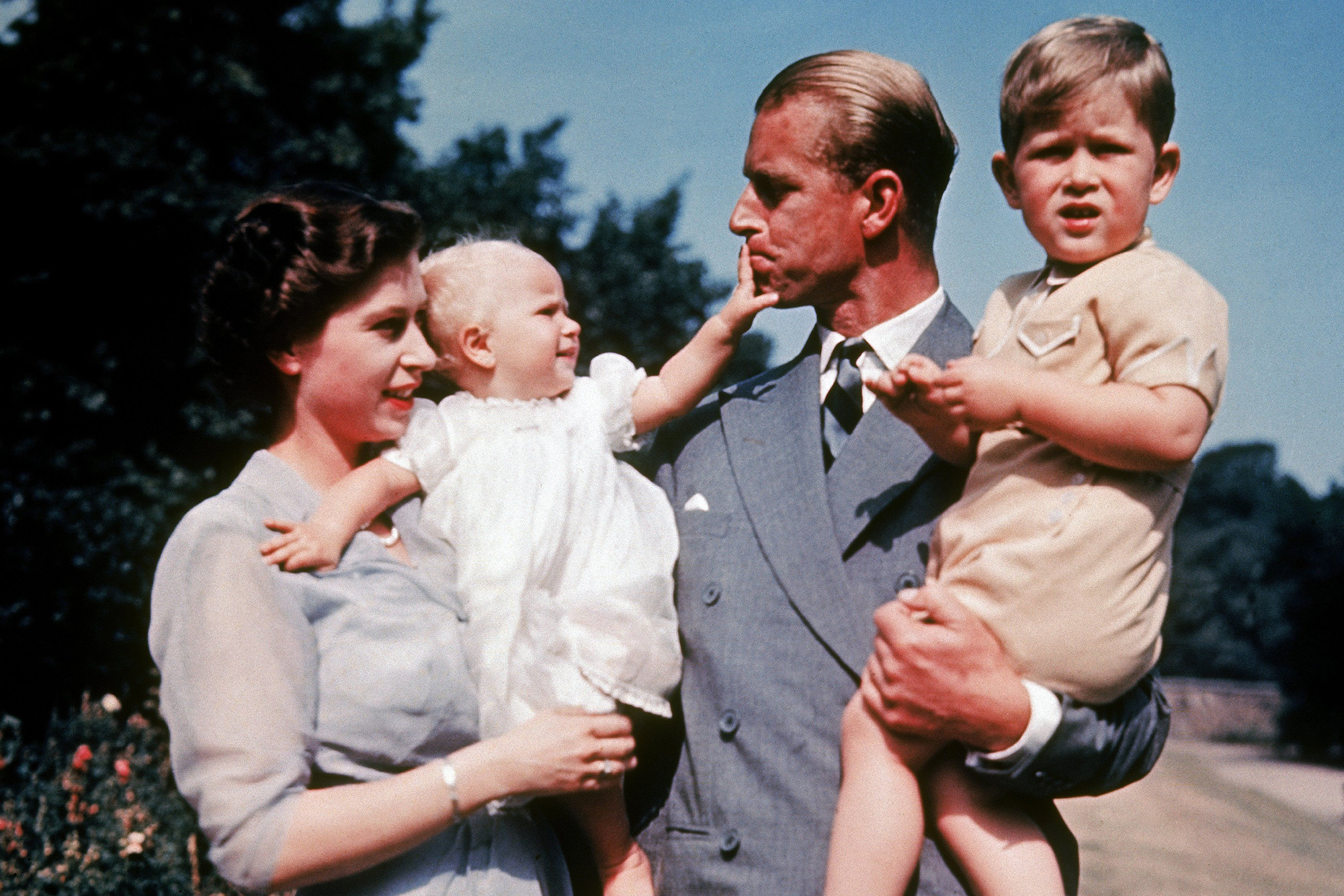 The English Royal Family In 1951
