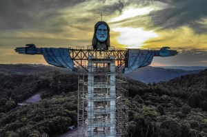 The new giant statue of Christ in Brazil even taller than the one in Rio