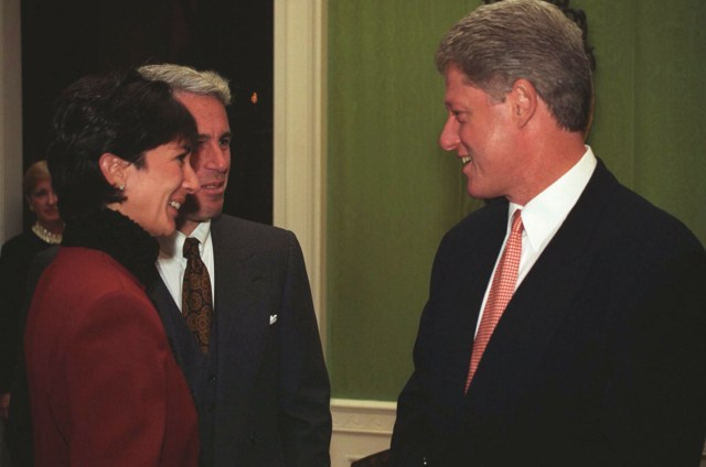 New photos show Jeffrey Epstein and Ghislaine Maxwell at the White House as guests of then-President Bill Clinton in 1993.