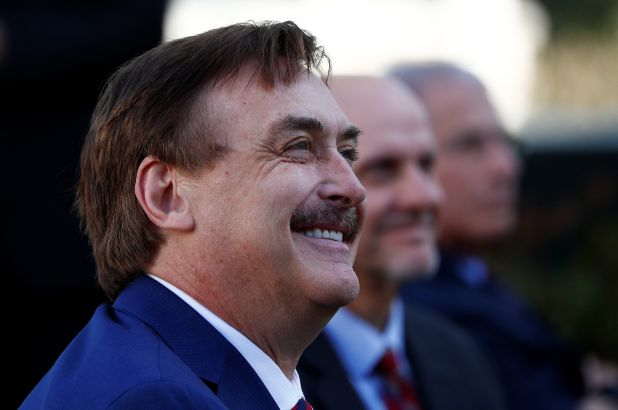 mike lindell claims bots and trolls