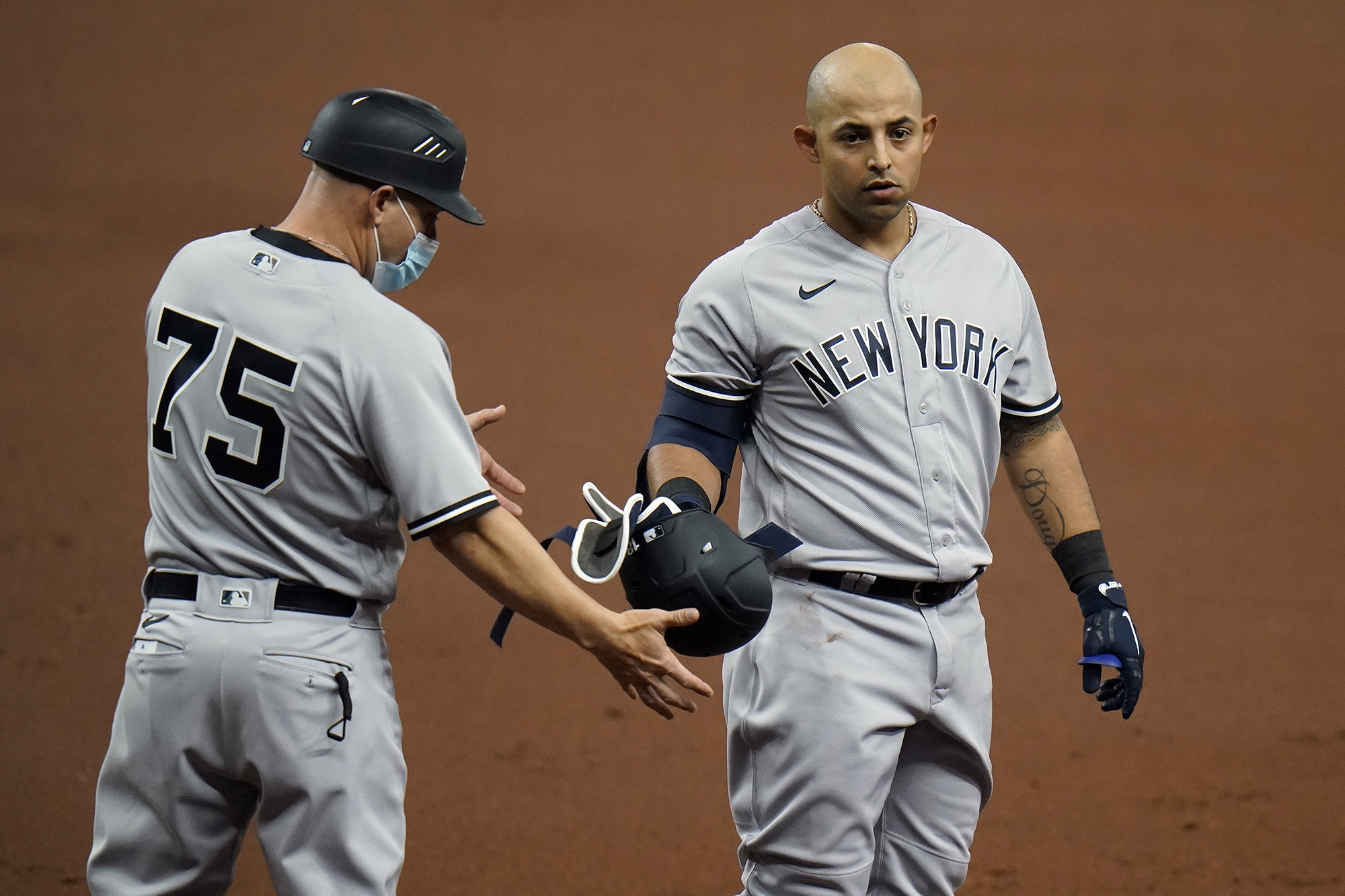 Yankees slip against Rays with Rougned Odor's clutch debut