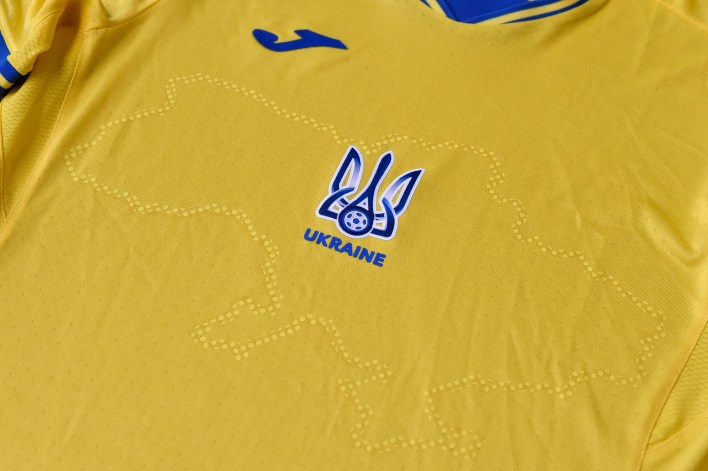 Russian politicians have decried Ukraine's newest soccer jersey for including Crimea onto a drawing of Ukraine.