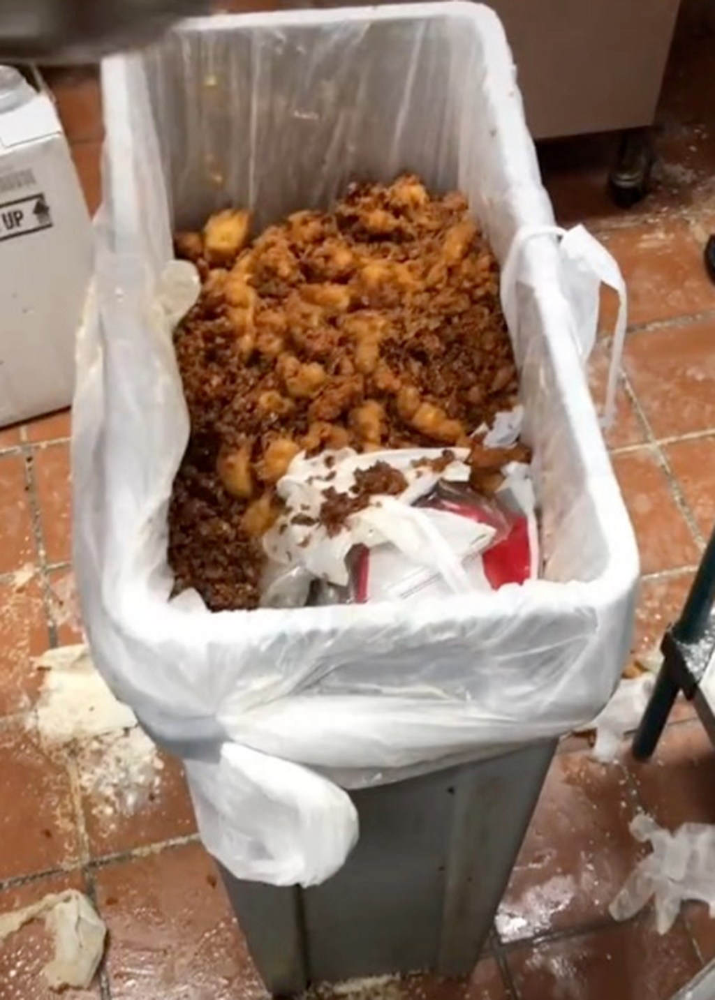 Chick-fil-A worker exposes chain's food waste