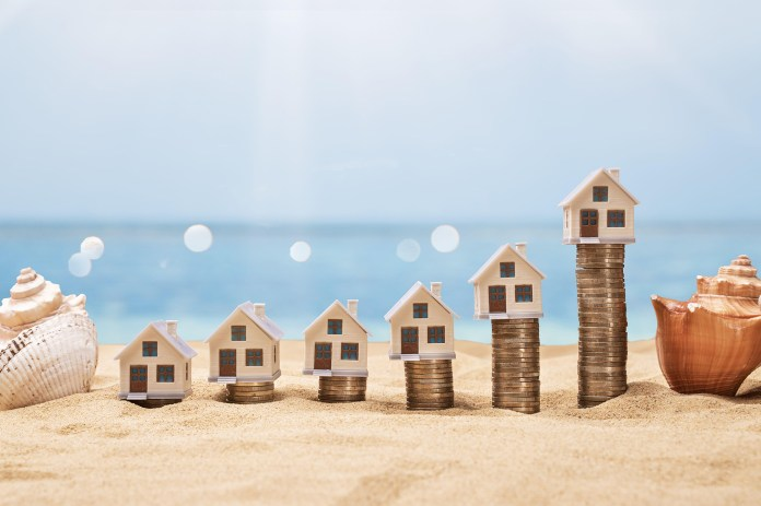 vacation homes prices rising