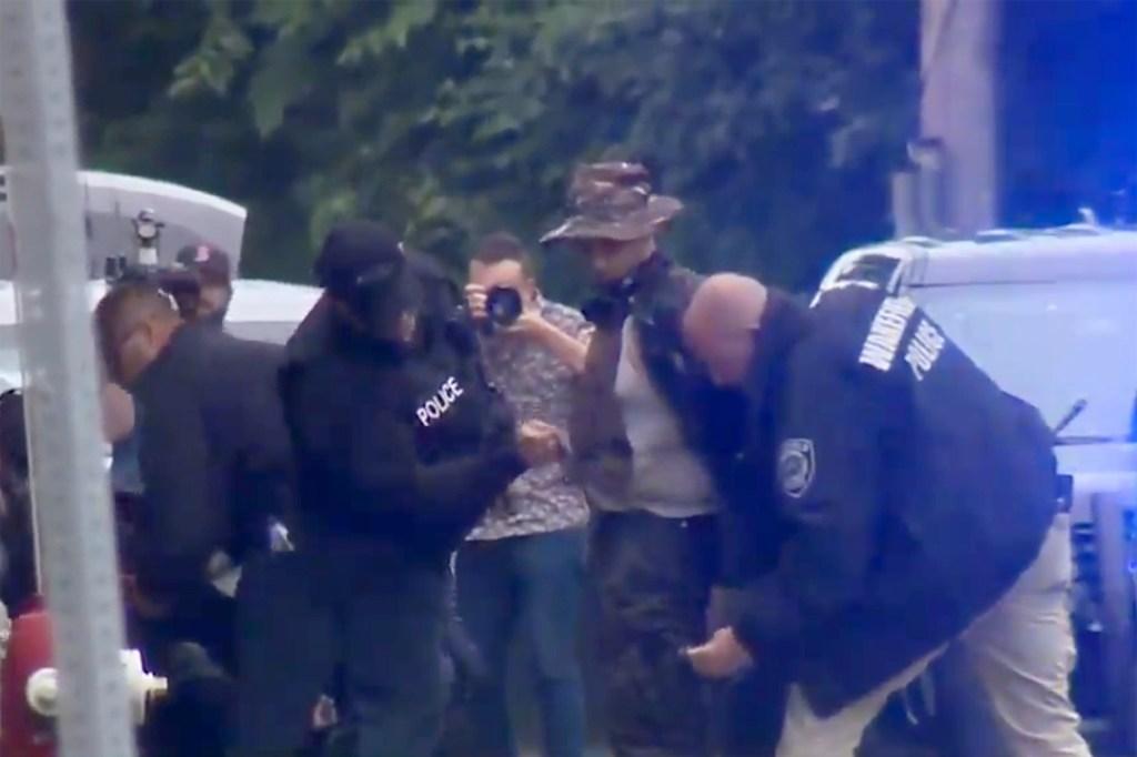 Nine in 'heavily armed' fringe group arrested after standoff in Massachusetts