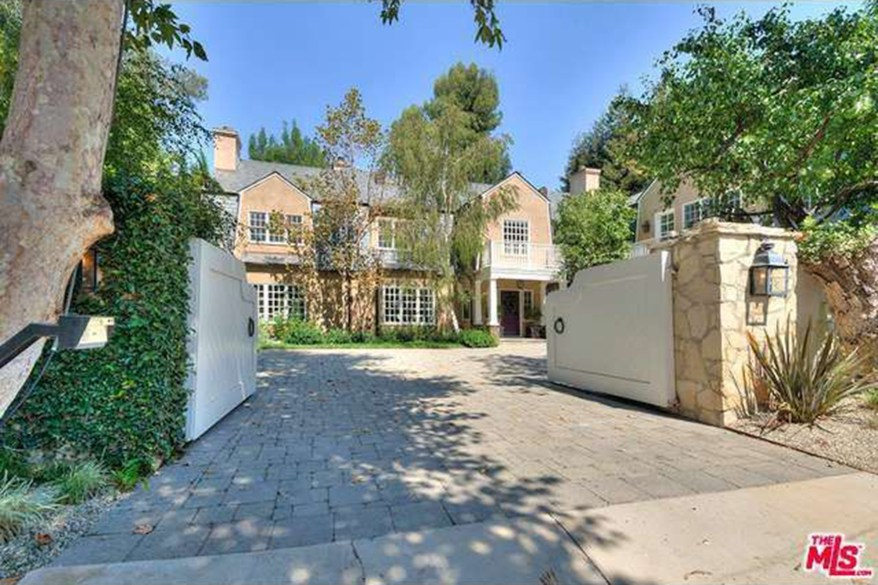 The first home Adele purchased in Beverly Hills in 2016, which spans 6,597 square feet.
