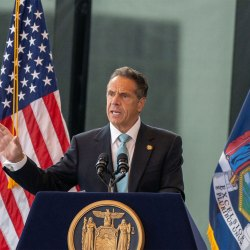 Cuomo Eyes Other Sites For COVID Workers Memorial In Battery Park Amid Backlash