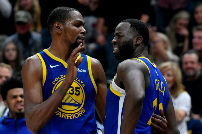Kevin Durant and Dreammond Green.