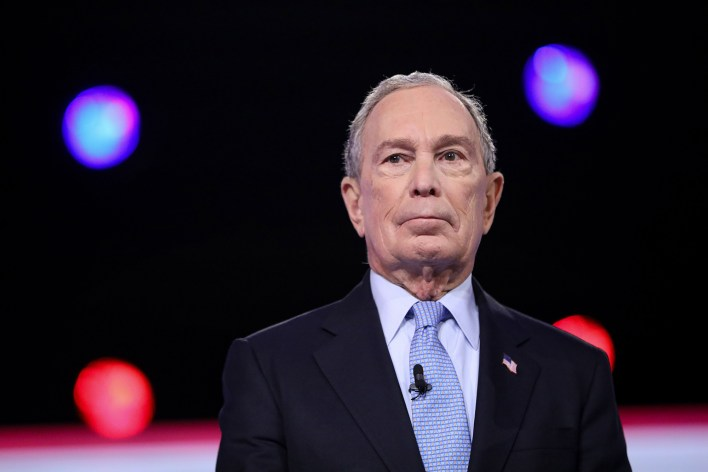 Former Mayor Mike Bloomberg