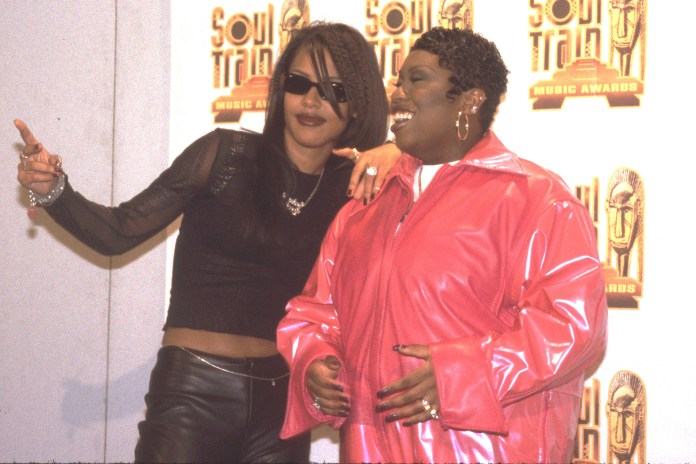 Aaliyah and Missy Elliott