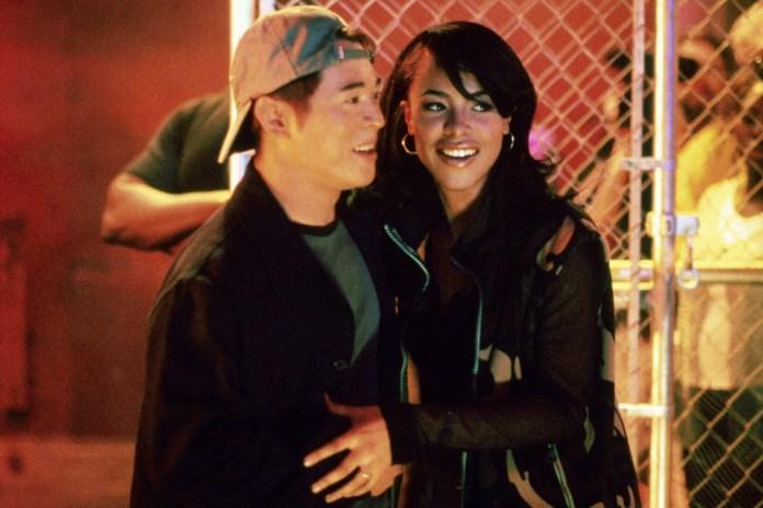 """Jet Li and Aaliyah in """"Romeo Must Die"""""""