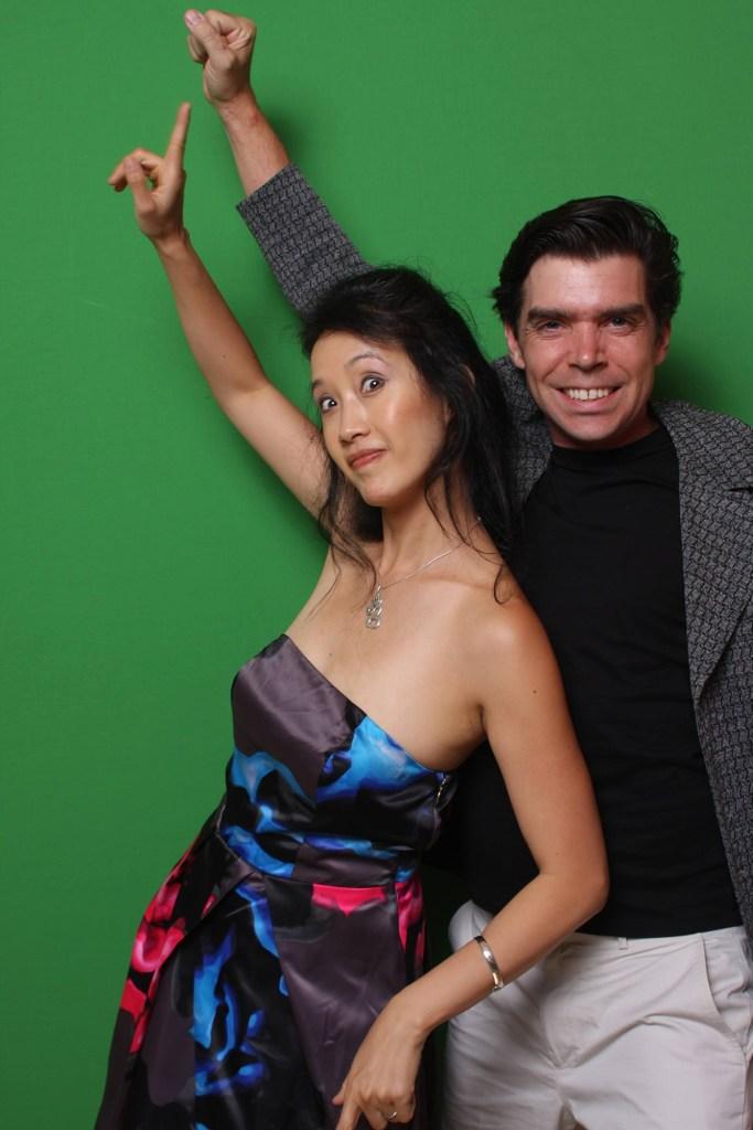 Scott Hassan and Allison Hyuuh