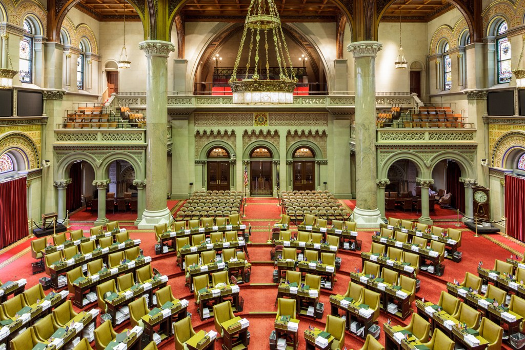 Legislative Assembly Hall.