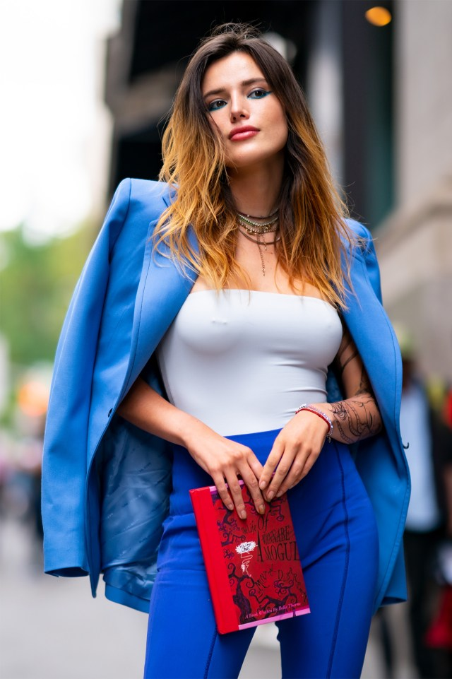 Actress Bella Thorne, a former Disney princess who did a stint as a porn producer, is also featured on OFTV.