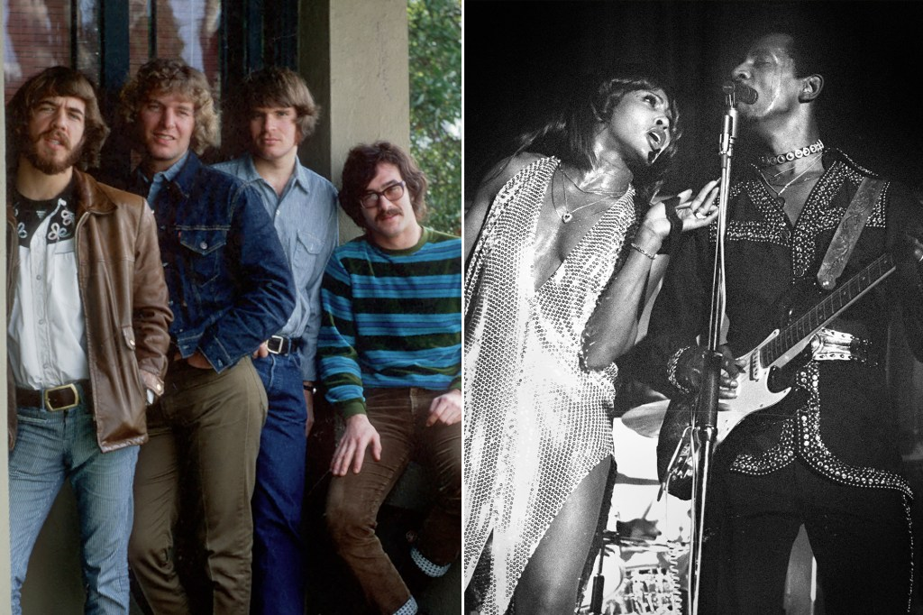 Creedance Clearwater Revival and Ike and Tina Turner