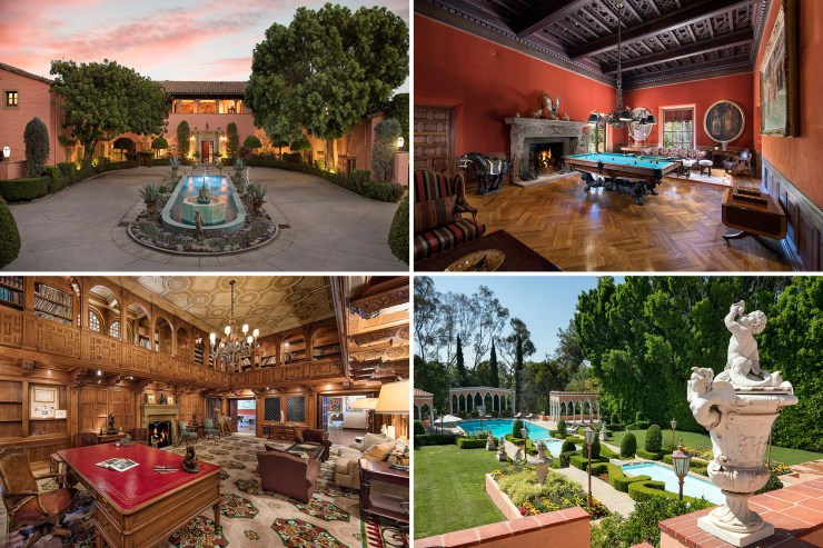 Hearst estate sells for $16M over bidding price at auction