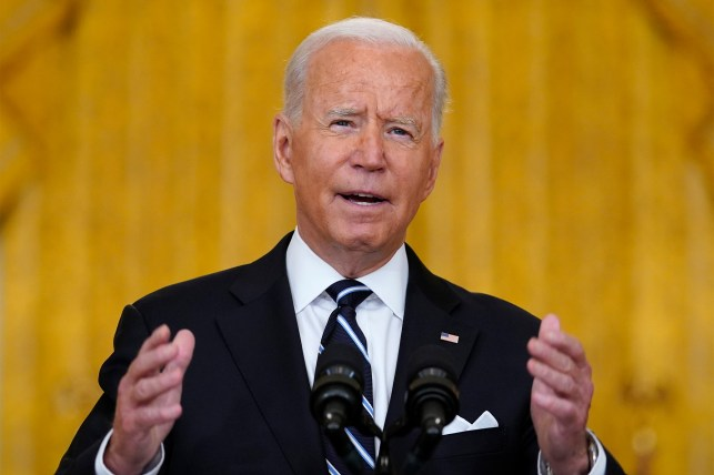 In a speech on August 18, 2021, President Joe Biden discussed COVID-19 vaccine efforts rather than the crisis in Afghanistan.