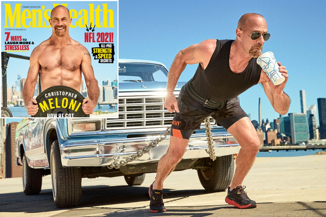 """In the world of thirst traps, """"Law & Order"""" star Christopher Meloni's butt is considered especially attractive and arousing to the unsuspecting public -- these are his photos. Dun-dun!"""