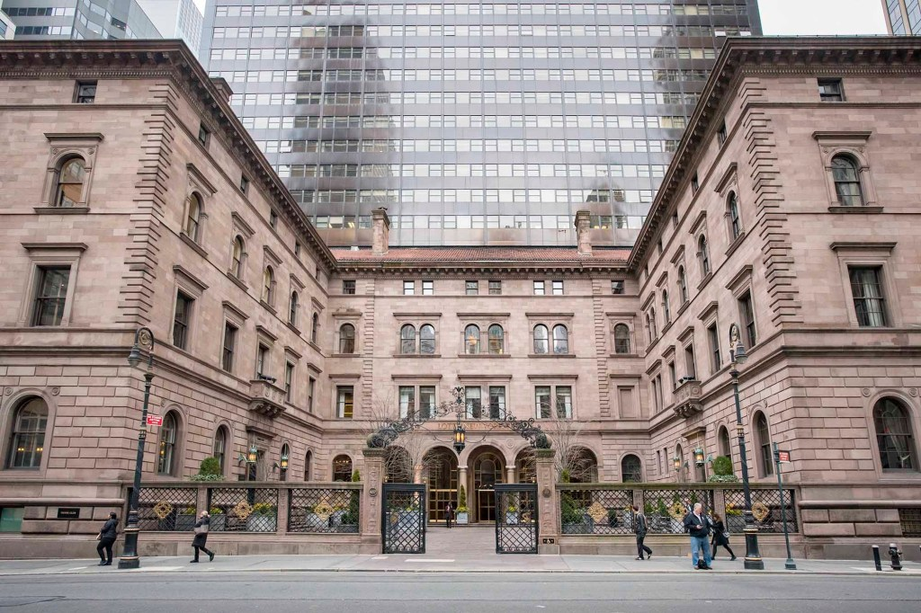 The Lotte New York Palace Hotel,at 50th street and Madison, canceled its annual Invitational event featuring a titillating badminton tournament between U.S. Open stars.