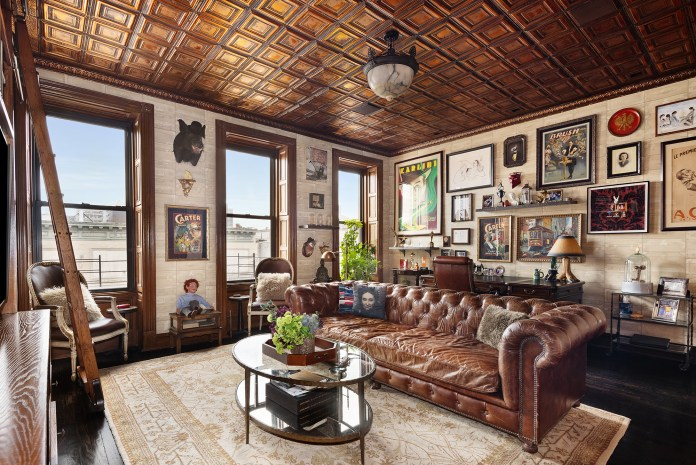 """""""If this house could win an Emmy, it would. There is so much soul and character that it's hard to pinpoint standout features because there are too many to count,"""" listing broker Vickey Barron of Compass told The Post."""