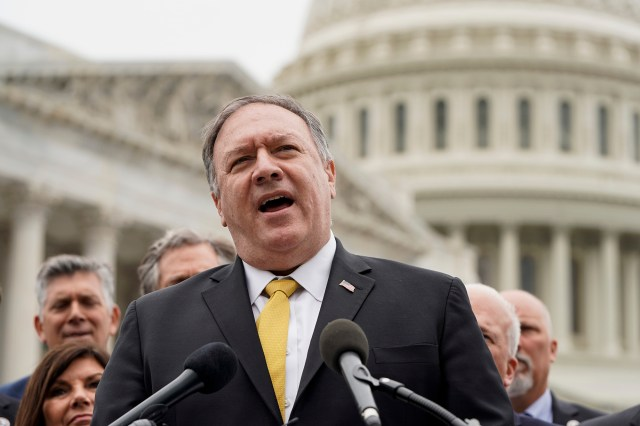 Former Secretary of State Mike Pompeo