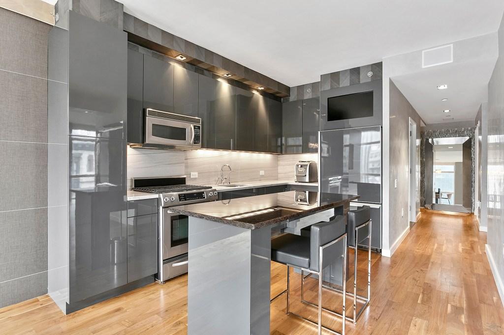 The kitchen inside 11 E. 29th St.