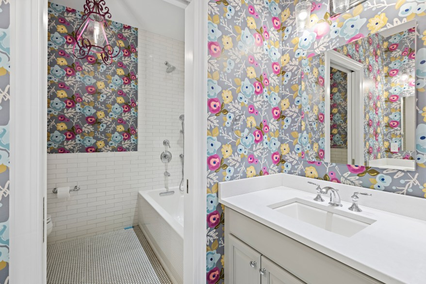 One of seven bathrooms.