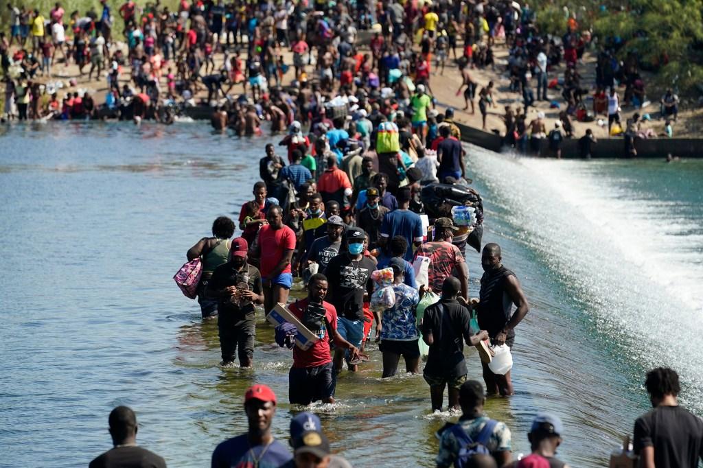 Haitian migrants.