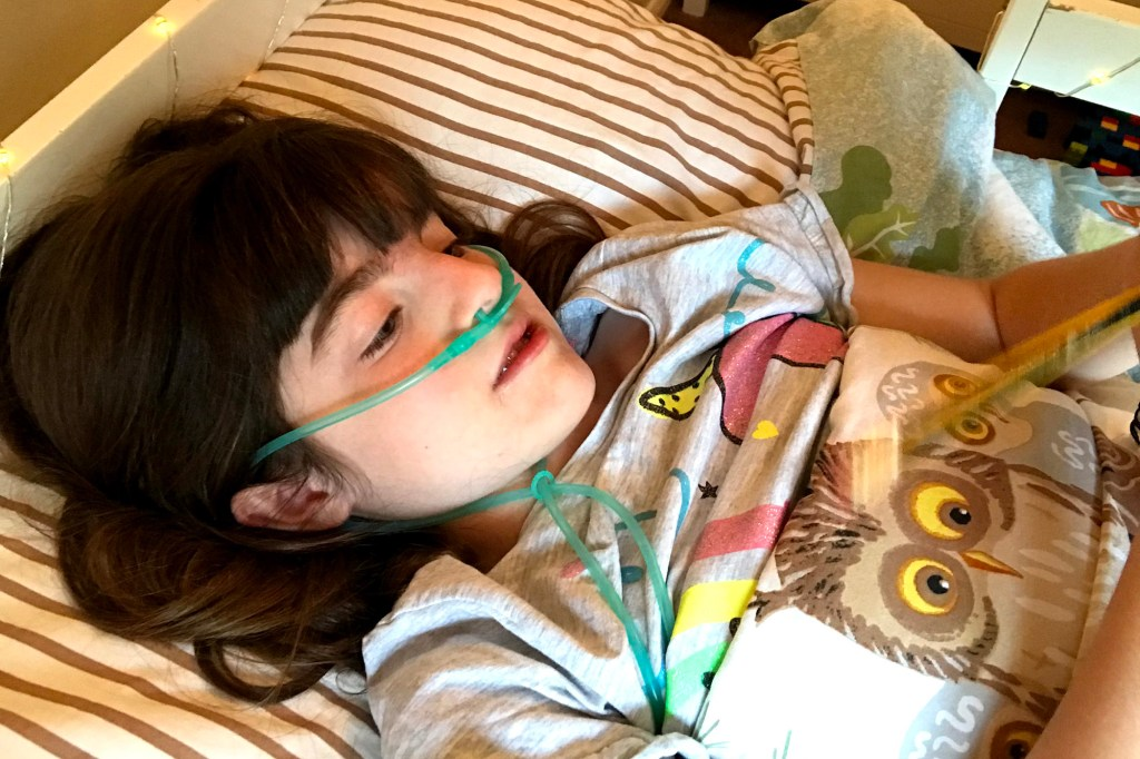 For Hasti, the syndrome has impeded her growth and ability to learn, he said, as well as given her seizures.
